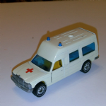 1613 SIKU Mercedes Binz benz KASTENWAGEN ambulance vintage with bed vgc @SOLD@